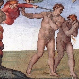 The Fall of Man by Michelangelo